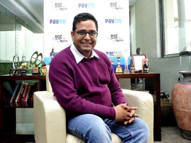 Paytm,One97,Vijay Shekhar Sharma
