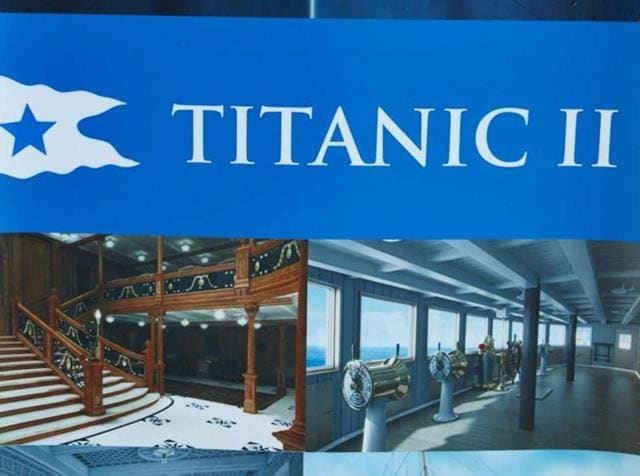 Blue Star Line will set to sail Titanic II in 2018.