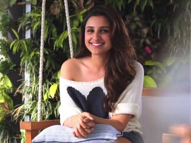 Parineeti Chopra in a still from the announcement video shared by YRF.