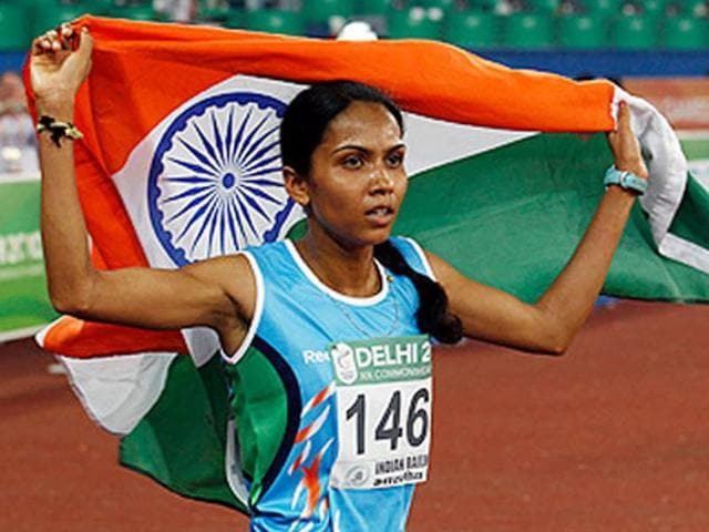 Indian long-distance runner Kavita Raut booked her spot for the Rio Olympics in women's marathon after winning the event in the 12th South Asian Games.
