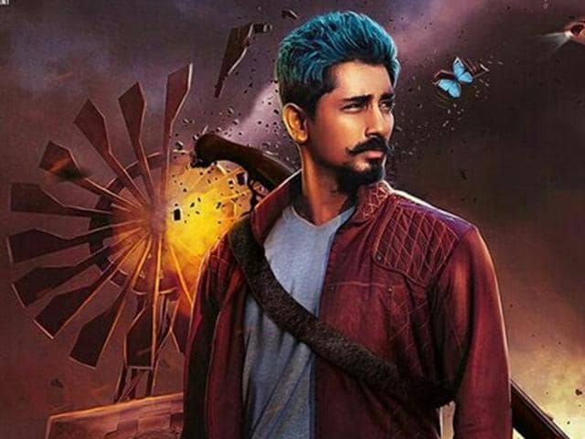 Jil Jung Juck starring Siddharth is a goofball comedy with enough dark episodes.