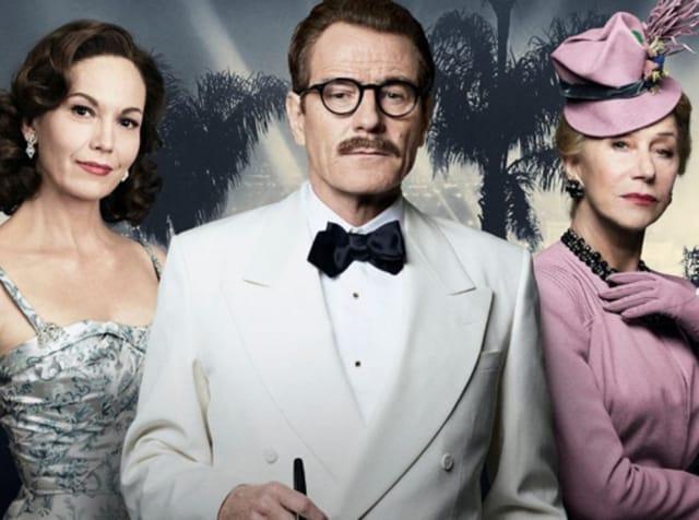Diane Lane, Bryan Cranston and Helen Mirren front Trumbo, a lovingly rendered biopic.