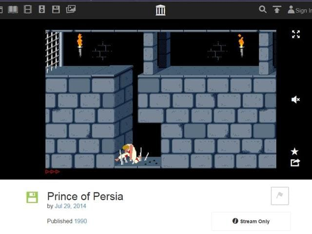 We tried the classic Price of Persia and it played as slowly as it did then