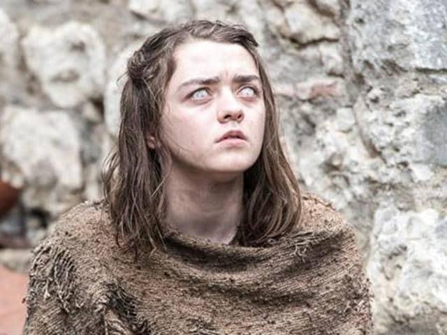 Maisie Williams as Arya Stark. Correction: No One.