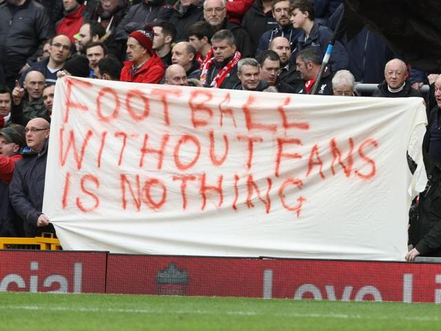 The pressure on clubs to make the sport more affordable has gathered momentum in recent weeks with Liverpool owners withdrawing plans to increase ticket prices next season following a mass fan walkout to protest the move last weekend.