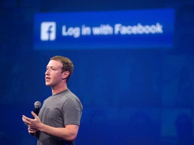 Facebook CEO Mark Zuckerberg speaks at the F8 summit in San Francisco, California in this file photo.