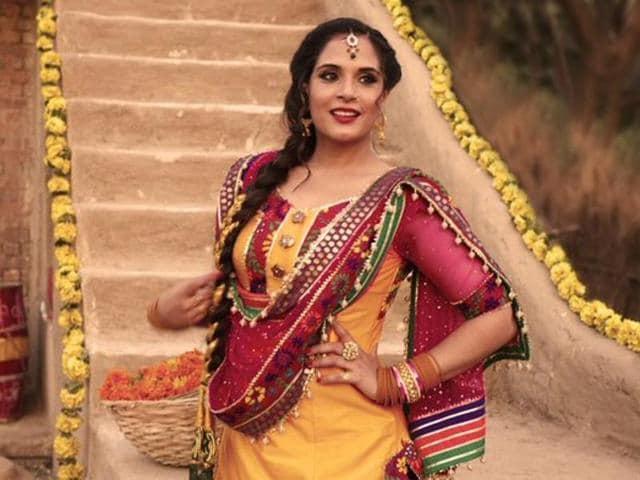 Richa Chadha in a still from Sarabjit.