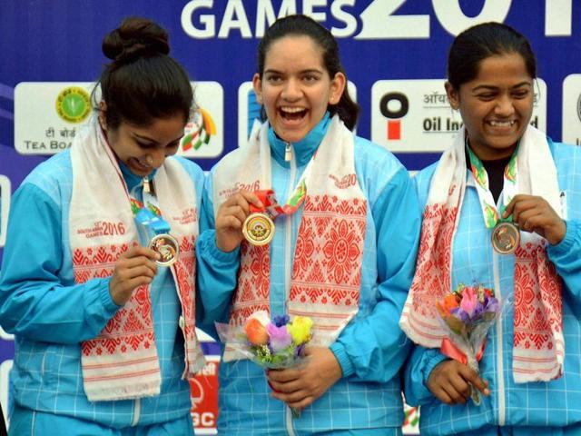South Asian Games,Guwahati,Shooting