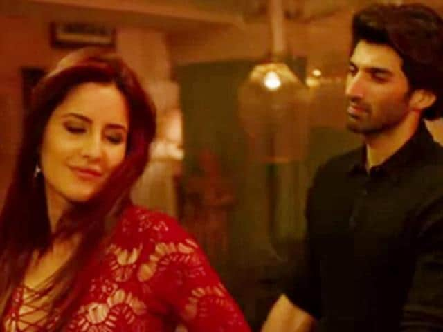 Katrina Kaif and Aditya Roy Kapur romance in a song from Fitoor.