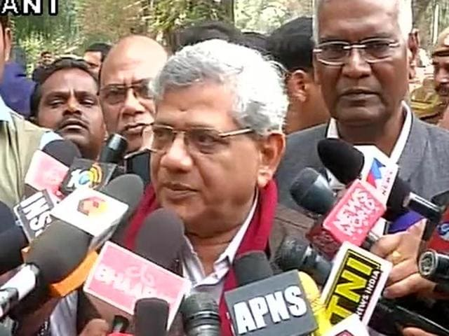 Yechuri on Saturday met Union Home Minister Rajnath Singh regarding the JNU campus incidents and demanded the release of a student leader arrested over sedition charges