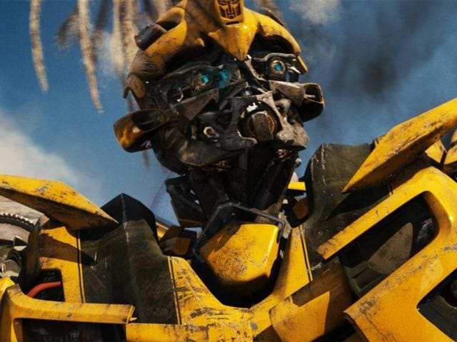 Bumblebee, stop lubricating on the man.