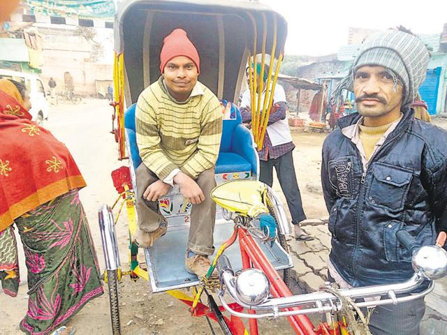 Although unschooled, Siddhant (left) is better placed than other beggars.