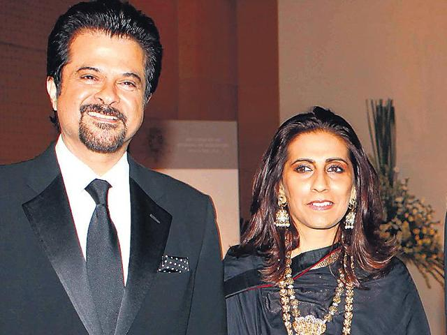 Anil Kapoor has been married to Sunita Kapoor for 32 years. (HT)