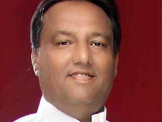 BJP leader Shashank Tiwari