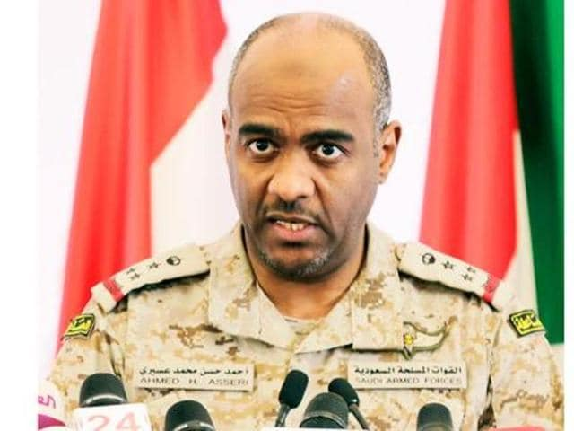 A file photo of Saudi Arabia's Brigadier General Ahmed al-Assiri. The Brigadier General confirmed that the kingdom had sent aircraft to Turkey to contribute to the fight against Islamic State.