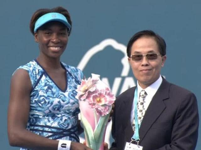 After first-round losses at the Australian Open and in Auckland last month, Venus Williams now has her 49th career title and first of the year after winning the Taiwan Open.