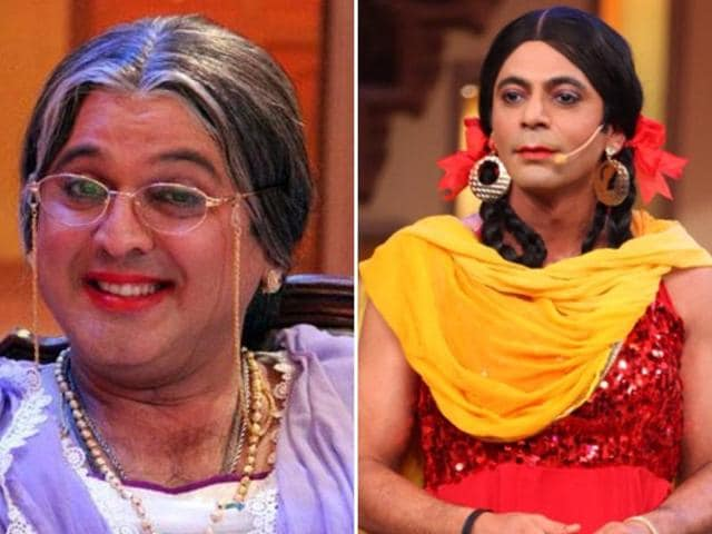 Ali Asgar and Sunil Grover were served a legal notice by the channel when it learnt that they would perform those roles in a live show in Surat.