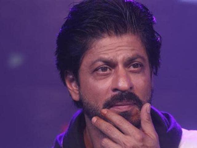 Shah Rukh Khan in a file photo from Nov. 2,2015. (AP)