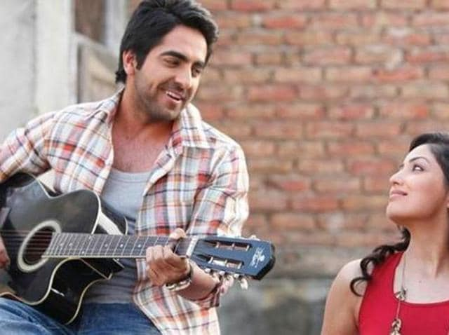Ayushmann and Yami in a still from 2012 film Vicky Donor. (YouTube