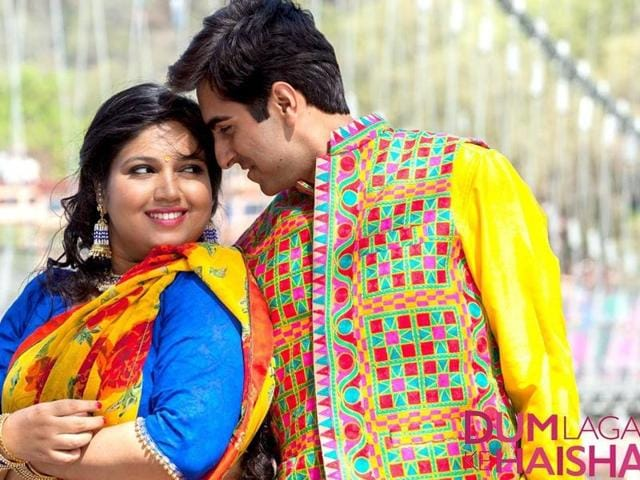 Dum Laga Ke Haisha is an unusual love story that challenges stereotypes in a light-hearted manner.