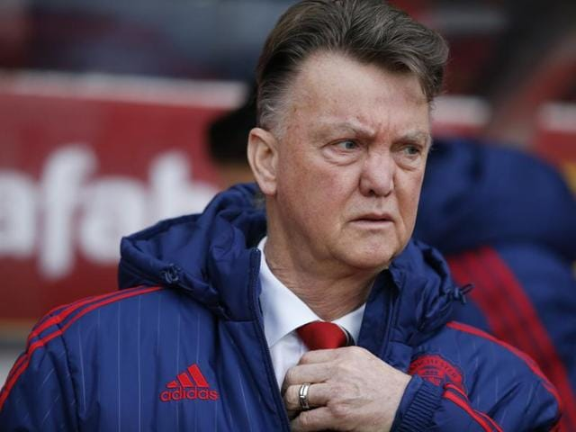 Manchester United manager Louis van Gaal before the EPL match against Sunderland on February 13, 2016.
