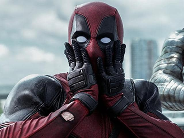 Yup, no one's as surprised as Deadpool.