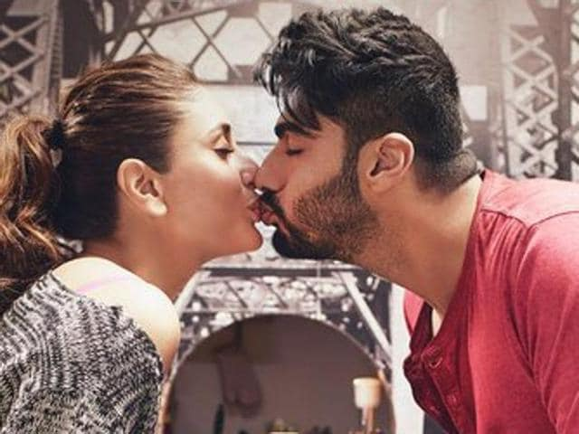 Arjun Kapoor and Kareena Kapoor in a still from Ki and Ka.
