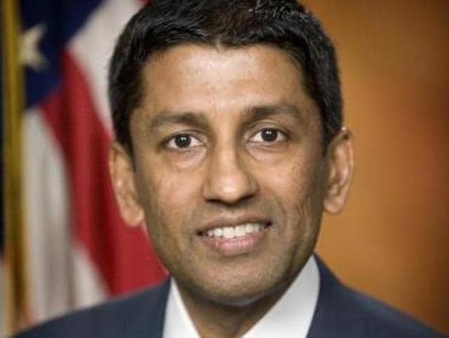Srinivasan, 48, has served on the US Court of Appeals for the District of Columbia Circuit since he was confirmed on a 97-0 bipartisan vote in the U.S. Senate in May 2013