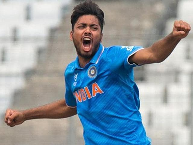 Avesh Khan was India's highest wicket taker at the Under-19 World Cup, taking 12 wickets at an average of 15.08.