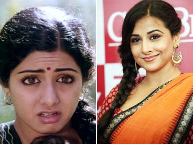 As a remake of the movie is on the cards, ad film-maker Lloyd Baptista, who is making the film, is on the lookout for leading actors who can aptly play the main characters. Apparently, he wants Vidya Balan to play Sridevi's role.