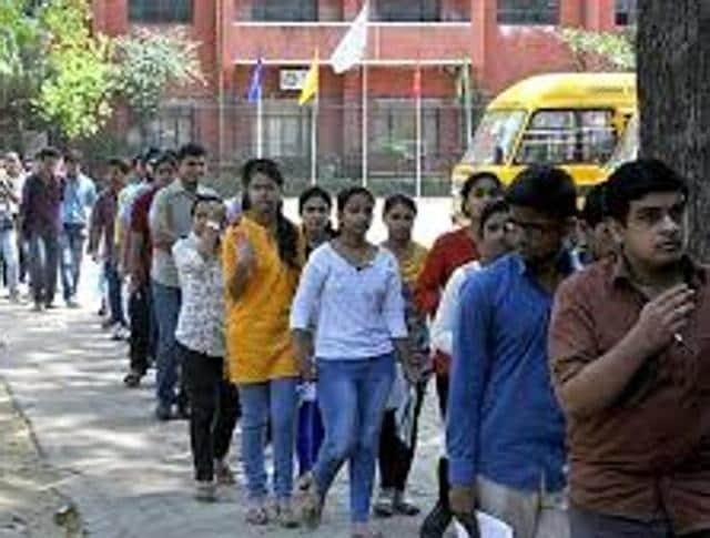 The exam was made online from last year and even then Chandigarh didn't have a single centre.