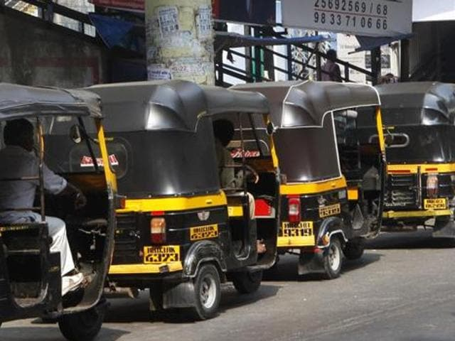 Almost all autorickshaws in Mumbai's suburbs are likely to go off the road today, as a city union, representing 85% drivers, has announced a strike to protest the hefty rise in permit fee and is demanding restrictions on app-based taxis.