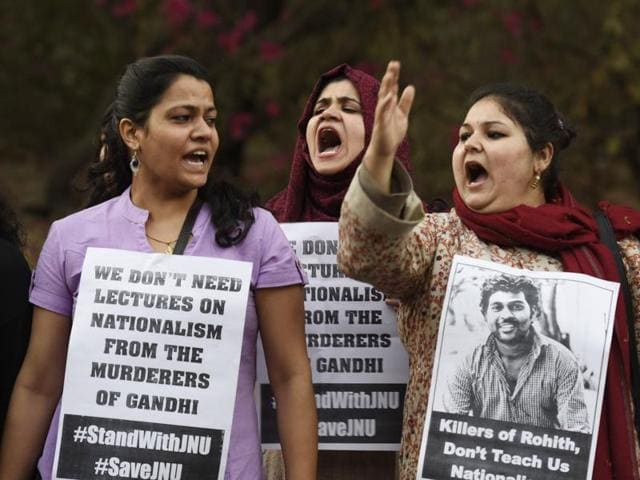 JNU row,Rajnath Singh,Afzal Guru event at JNU