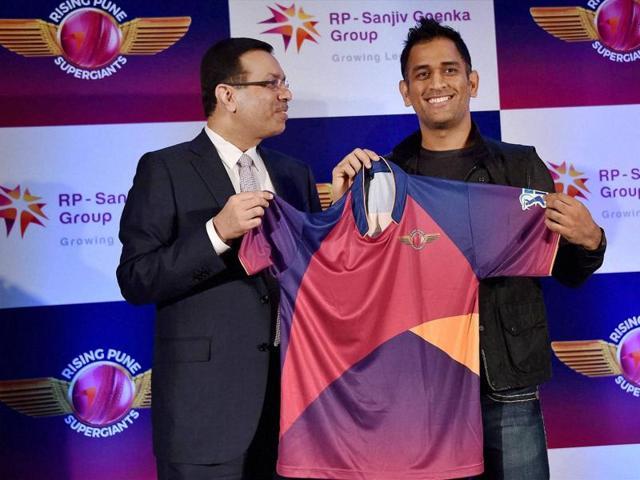 Rising Pune Supergiants,MS Dhoni,Indian Premier League