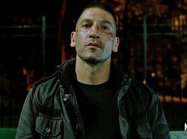 The trailer opens to an introduction to the new villain, Frank Castle or The Punisher, played by Jon Bernthal.