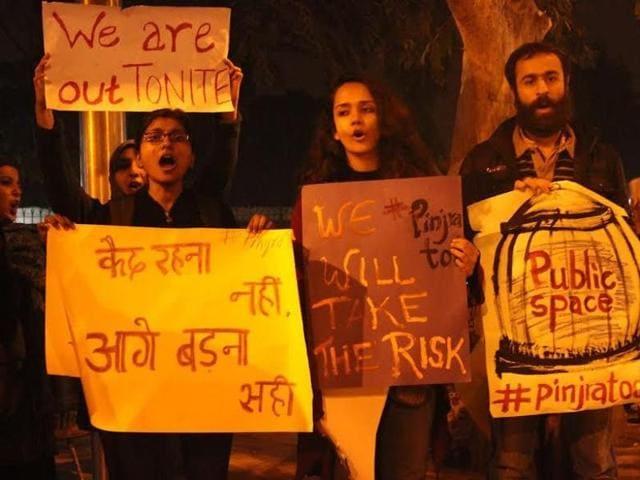 Pinjra Tod,Sexism,Delhi University