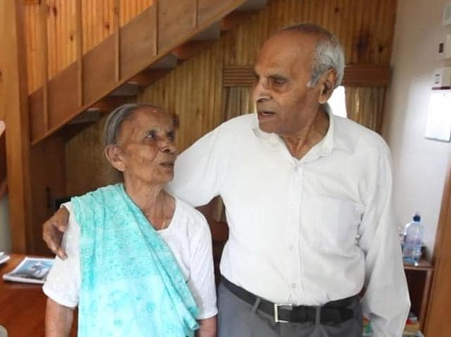 Jeram Ravji and Ganga Ravji will turn 100 in May and June respectively and will celebrate their 81st wedding anniversary in two months.(nzherald.co.nz)