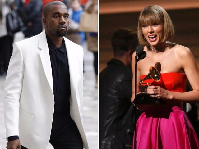 Grammys Did Taylor Swift Take A Dig At Kanye West Music Hindustan Times
