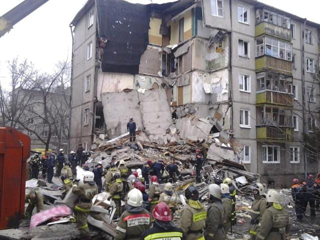 Russia building collapse,Sergei Yastrebov,Russia gas blast