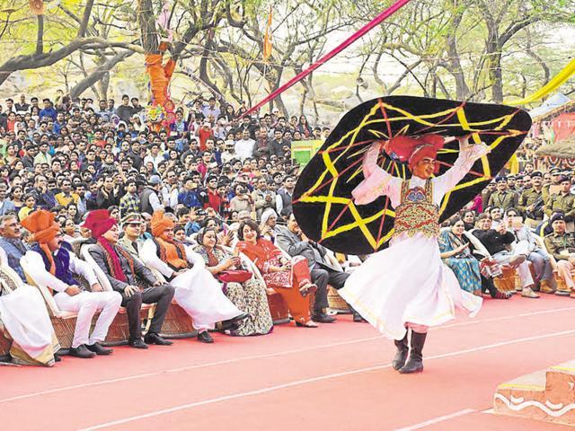 About 180 international folk artistes performed at the mela