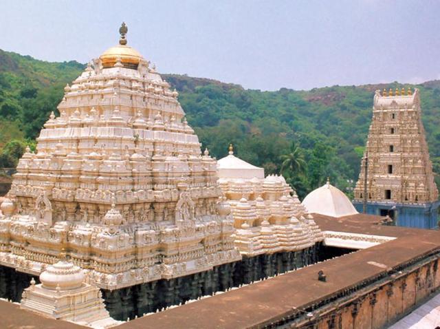 Human hair worth Rs 10 lakh was stolen from the Varaha Lakshmi Narasimha Swamy temple in Andhra Pradesh, police said.