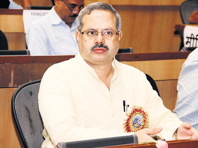Sunil Ambekar, the ABVP's national organizing secretary, told HTthat the violence in the Patiala House courts was a 'reflection of people's anger'.(File Photo)