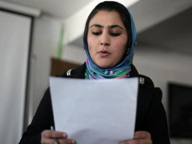 Beautiful yet sad: Afghanistan's female poets risk all for verse