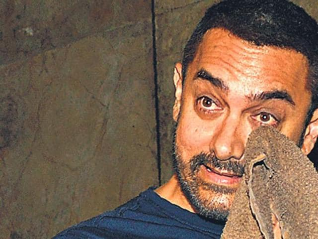 Aamir Khan faced the ire of right-wing groups after his comments on intolerance last year. )
