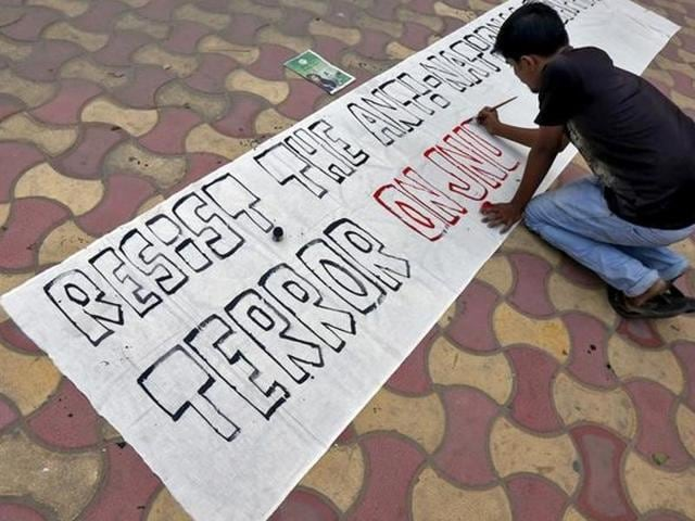 Political parties,JNU row,Student protests