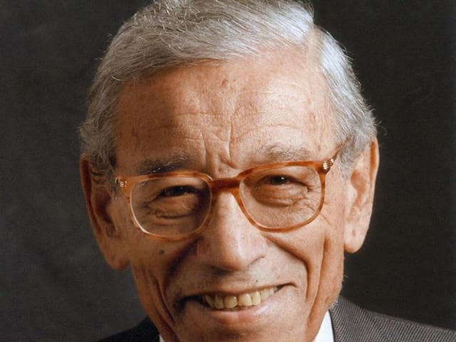 People who visited the room of the late former UN Secretary-General Boutros Boutros-Ghali leave the hospital where he died in Cairo.