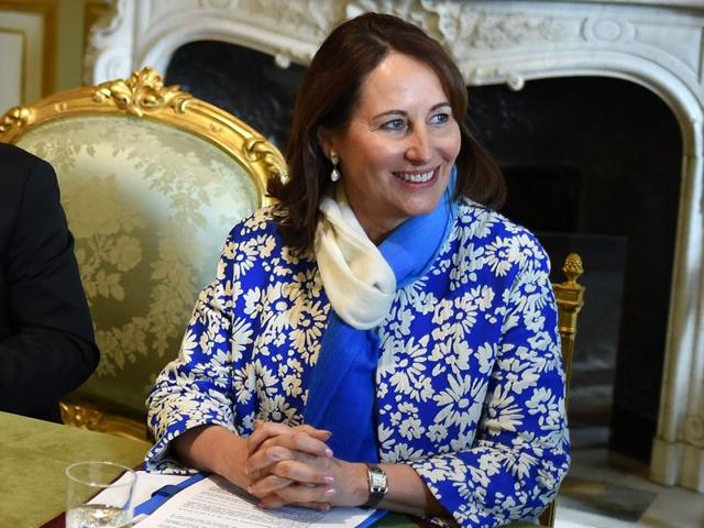 French environment minister Segolene Royal said Wednesday she would head the UN's COP21 climate forum,