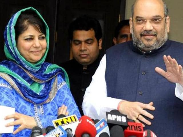 Jammu and Kashmir,PDP,BJP