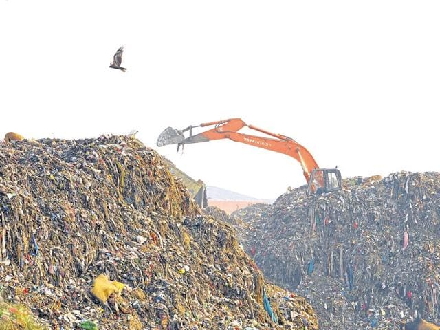 Under various services offered, waste management (processing and disposal) scored 75 out of 200 marks.