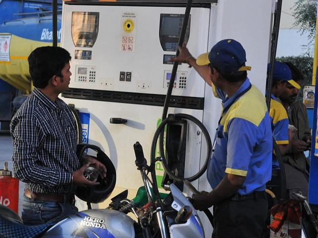 Petrol price was cut by 32 paise per litre but diesel rates were hiked by 28 paise a litre.